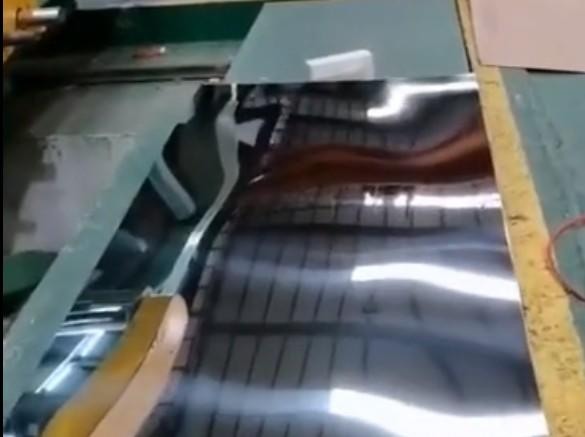 Production Process of Stainless Steel Plate
