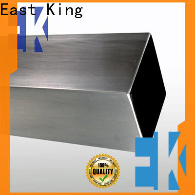 East King stainless steel tubing factory for bridge