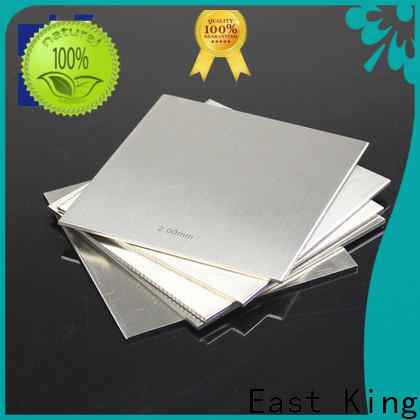 East King custom stainless steel plate factory for bridge