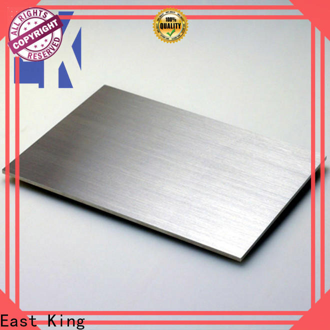 East King high-quality stainless steel plate manufacturer for mechanical hardware
