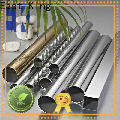 East King stainless steel tube factory price for bridge
