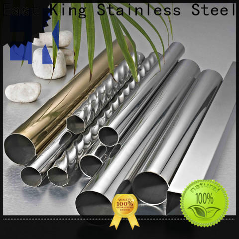 East King stainless steel tube directly sale for bridge