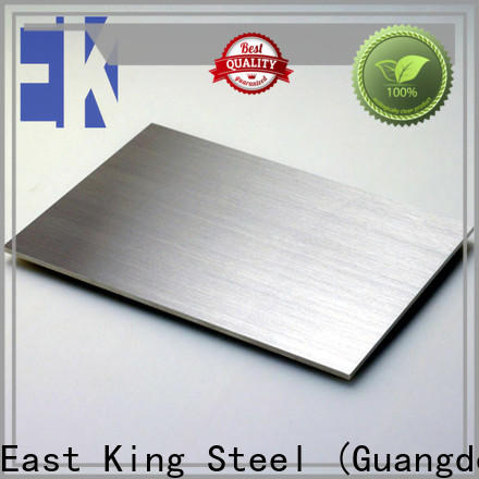 East King best stainless steel plate with good price for bridge