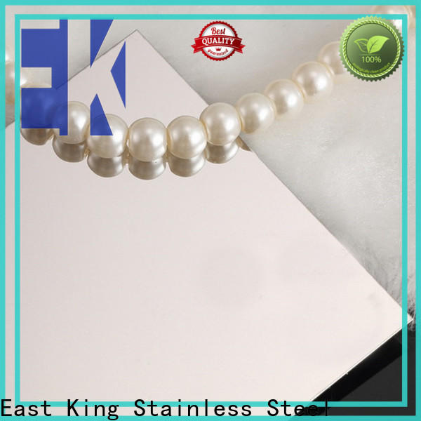 East King stainless steel plate factory for tableware