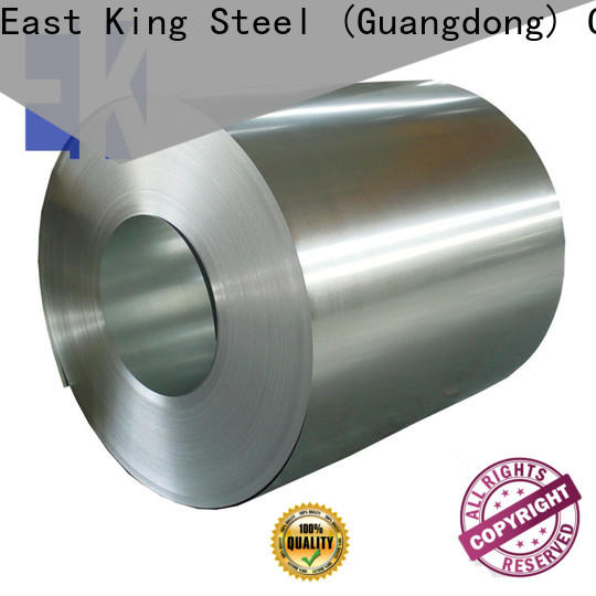 East King high-quality stainless steel roll factory for construction