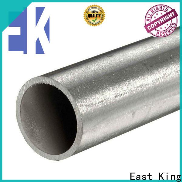East King top stainless steel pipe series for tableware