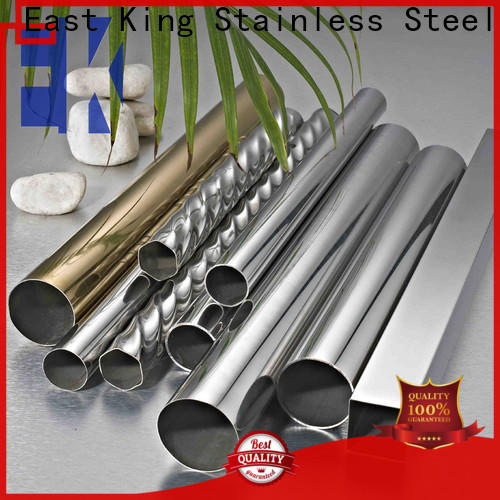 East King top stainless steel tubing factory price for bridge
