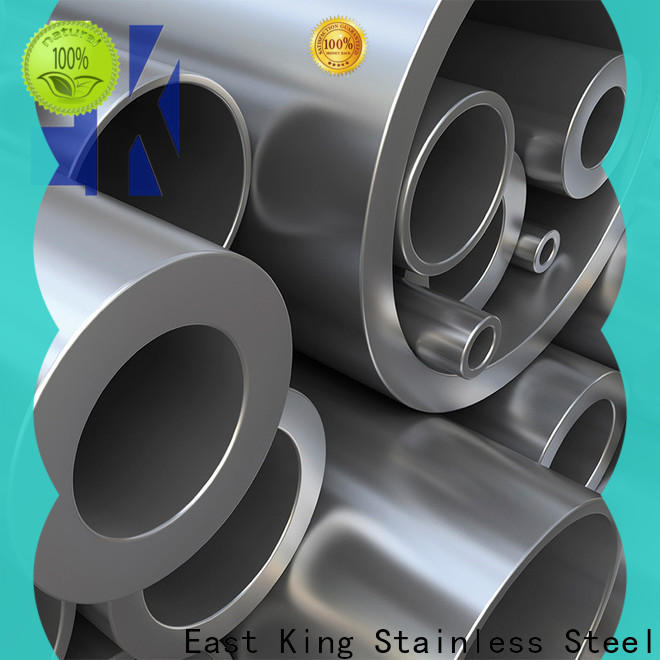 East King new stainless steel tube factory price for tableware