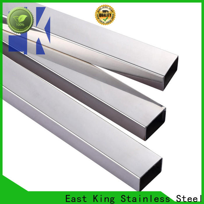 East King best stainless steel tube directly sale for tableware