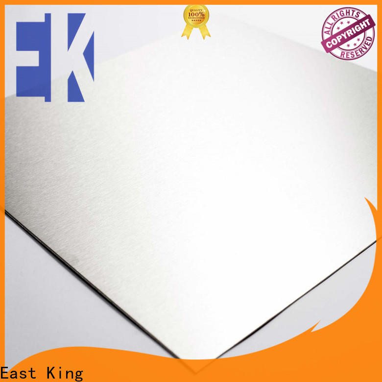 East King best stainless steel sheet with good price for bridge