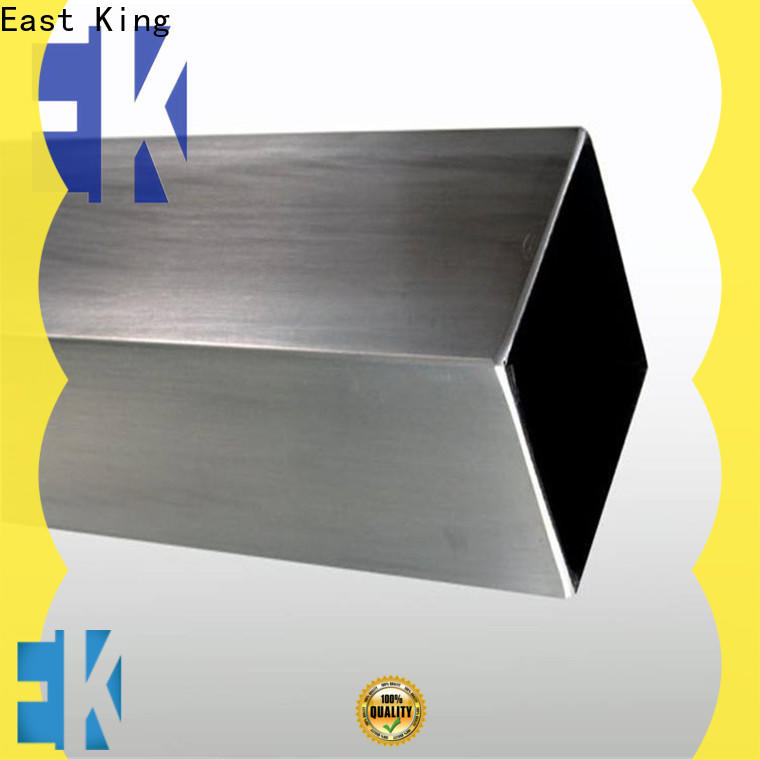 East King custom stainless steel tubing factory for bridge