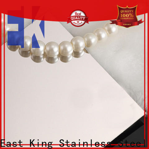 East King latest stainless steel plate manufacturer for bridge