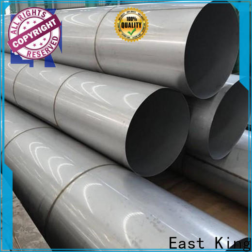 East King stainless steel pipe factory price for mechanical hardware