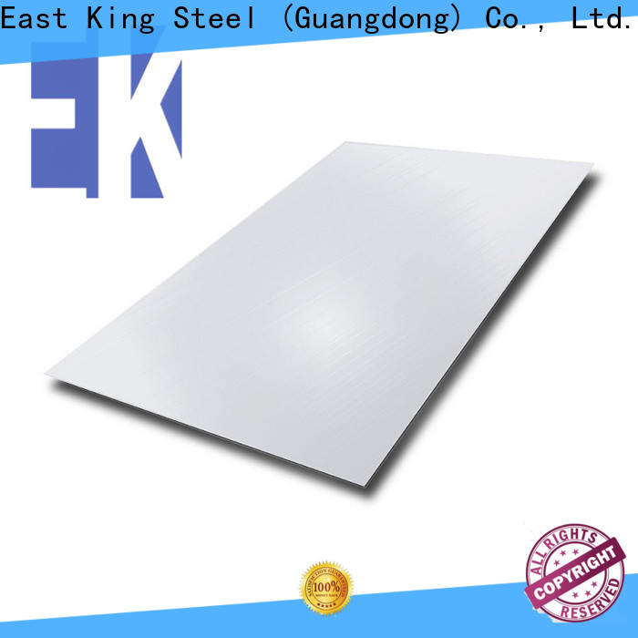 East King high-quality stainless steel sheet factory for bridge