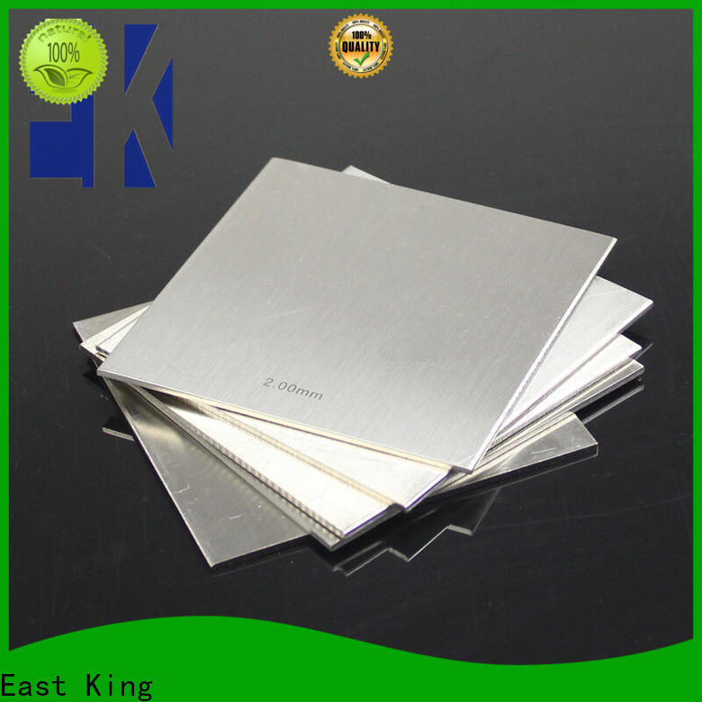 East King latest stainless steel plate manufacturer for aerospace