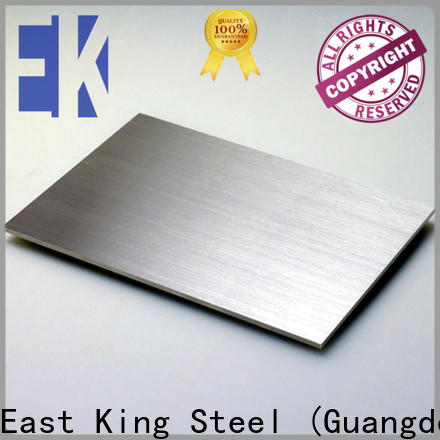 East King wholesale stainless steel sheet manufacturer for tableware