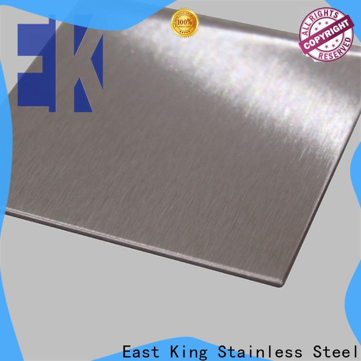 East King stainless steel sheet supplier for tableware