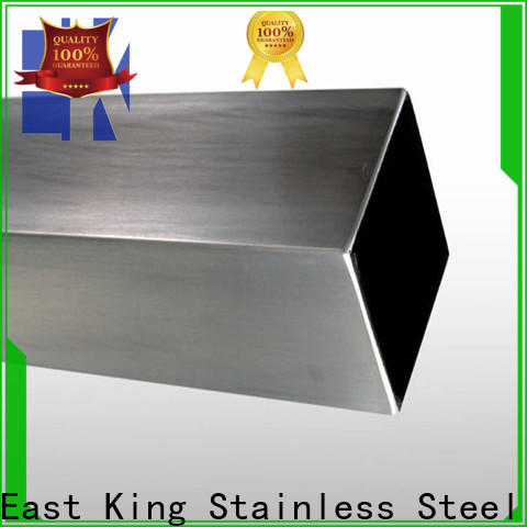 East King stainless steel tube with good price for bridge