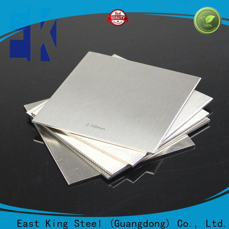 East King top stainless steel plate with good price for mechanical hardware