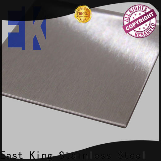 East King top stainless steel plate with good price for bridge