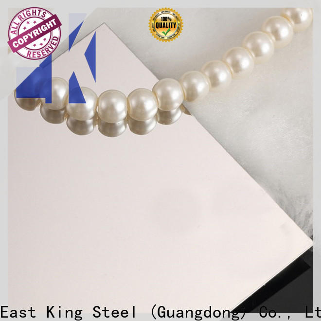 East King top stainless steel plate factory for mechanical hardware