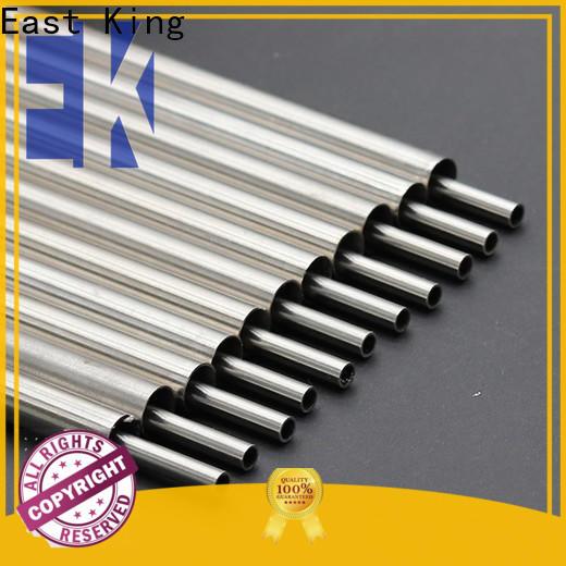 East King wholesale stainless steel tube series for tableware