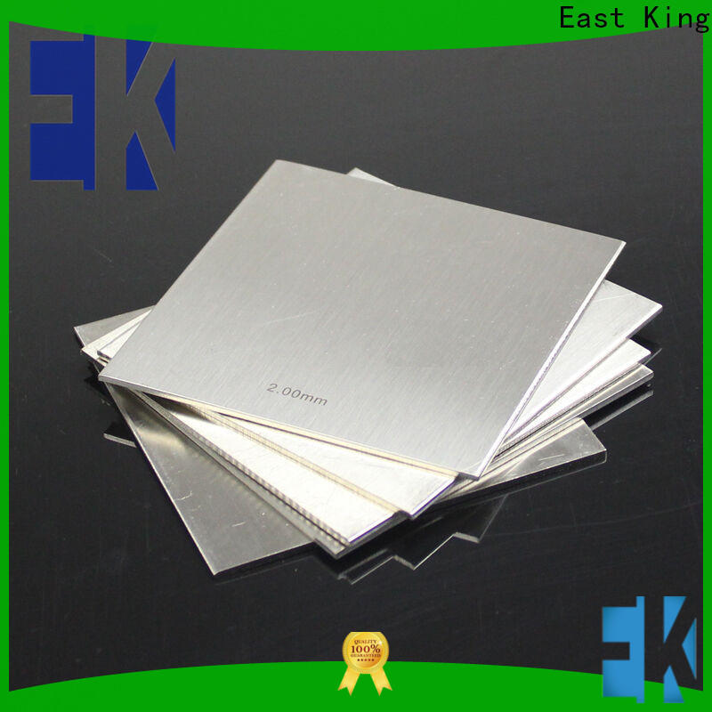 East King high-quality stainless steel sheet directly sale for bridge
