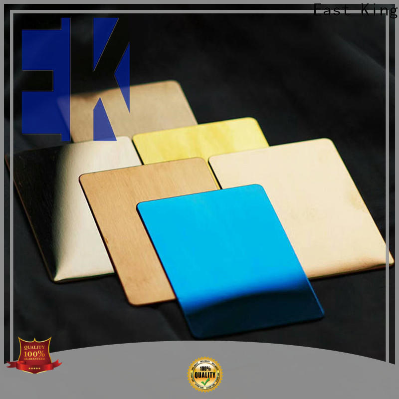 East King stainless steel sheet manufacturer for tableware