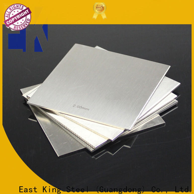 East King custom stainless steel plate directly sale for mechanical hardware