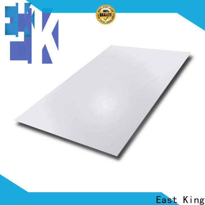 East King best stainless steel plate manufacturer for bridge