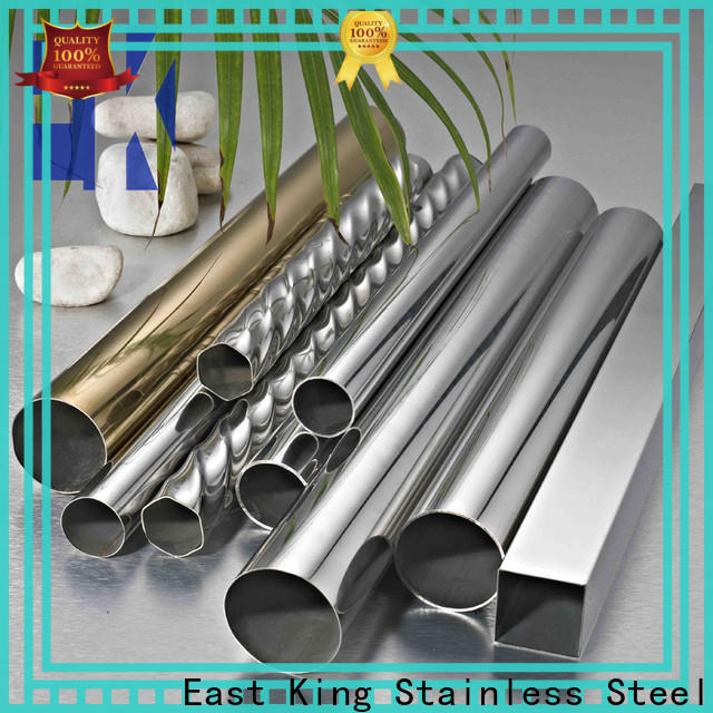 East King wholesale stainless steel tube with good price for tableware