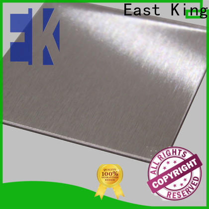 East King stainless steel sheet directly sale for mechanical hardware