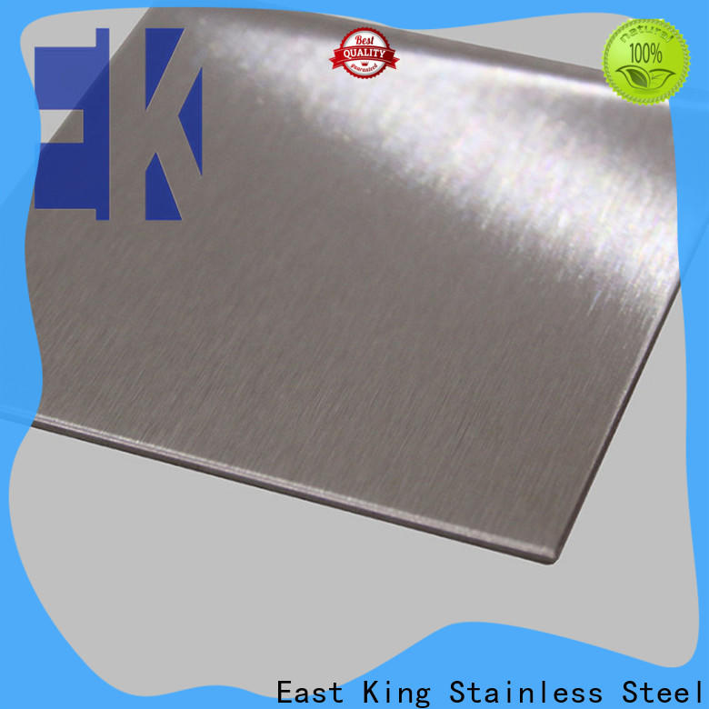 East King stainless steel sheet manufacturer for mechanical hardware