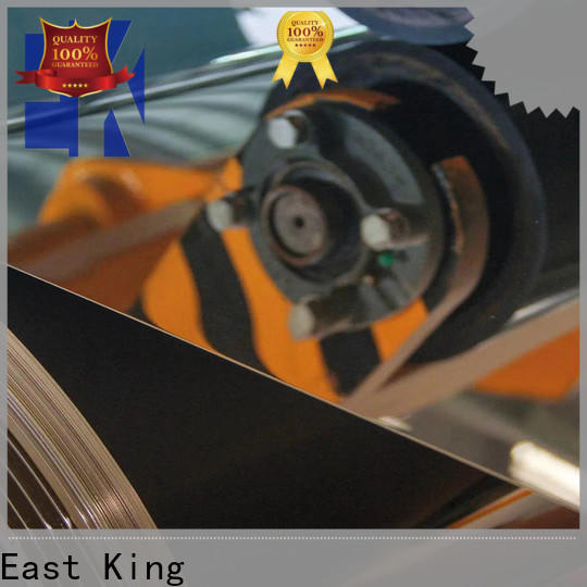East King best stainless steel sheet directly sale for mechanical hardware