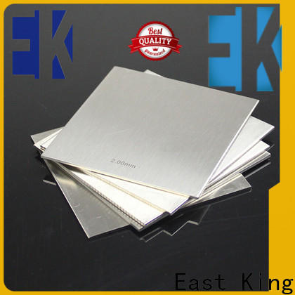 East King stainless steel plate factory for construction