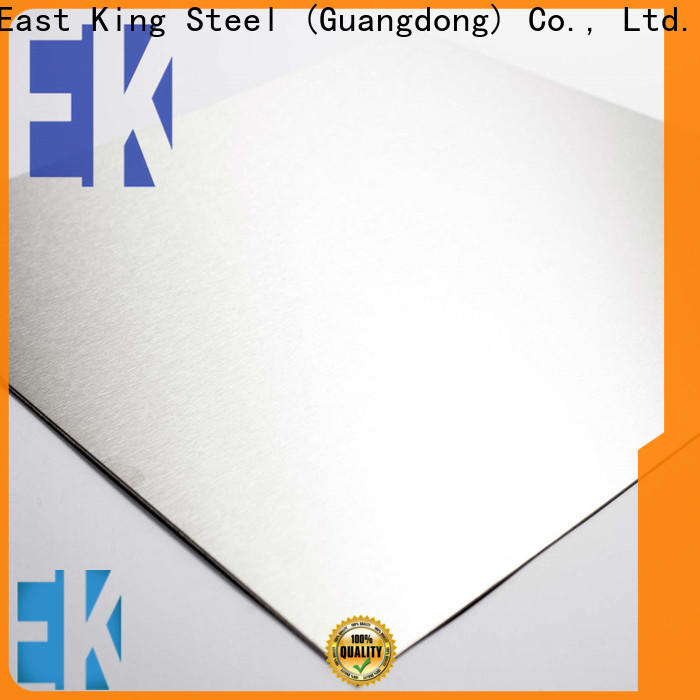 East King stainless steel plate manufacturer for construction