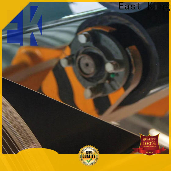 East King stainless steel plate with good price for mechanical hardware