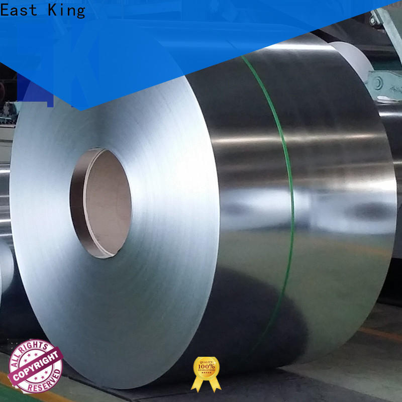 East King high-quality stainless steel roll factory for decoration