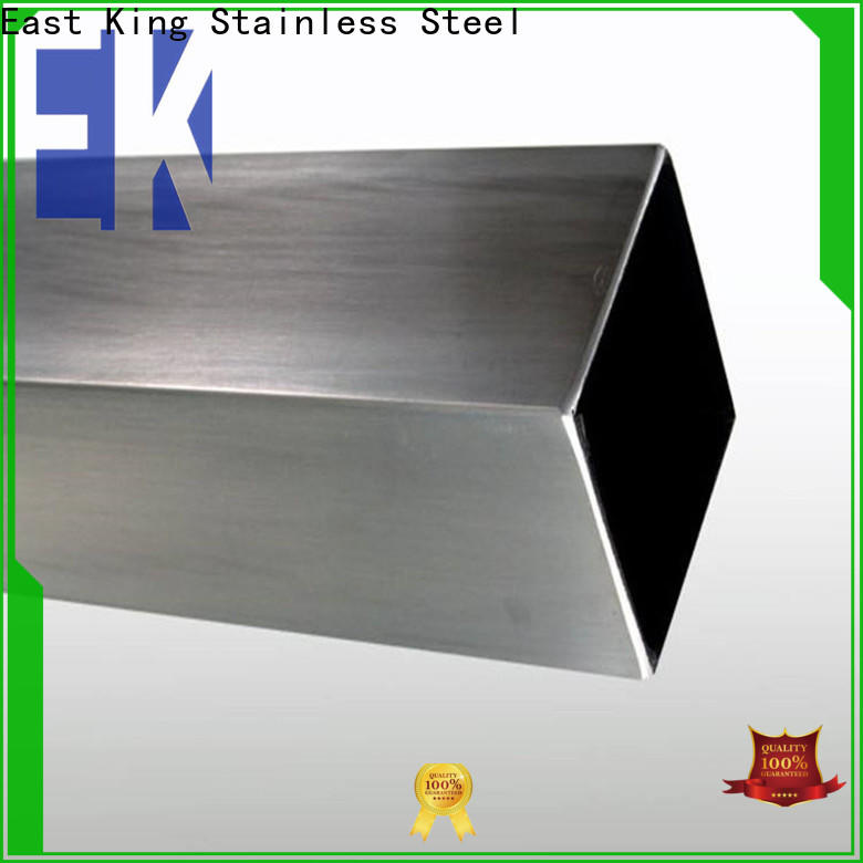 East King top stainless steel tube directly sale for bridge