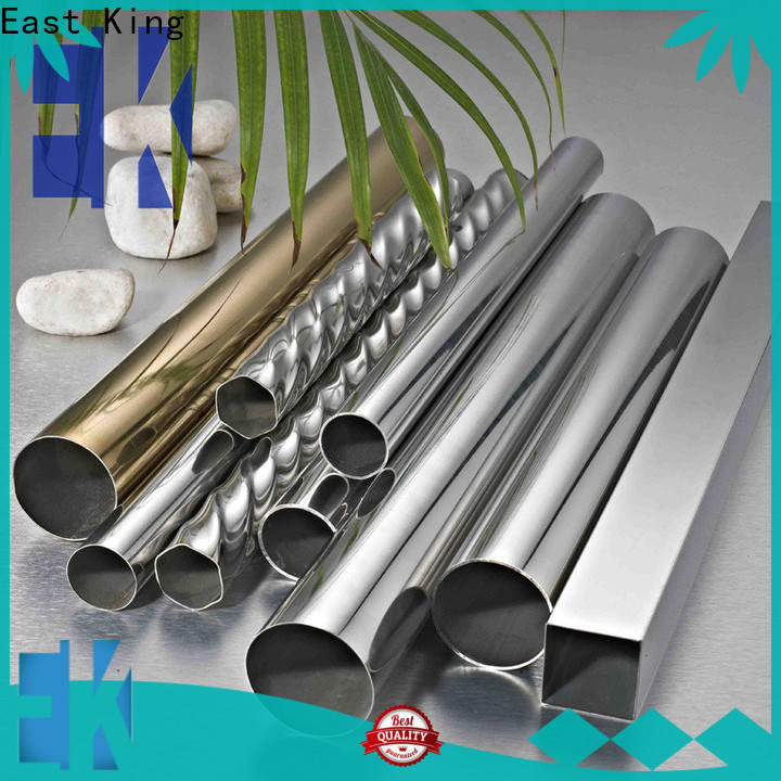 East King stainless steel tube with good price for construction