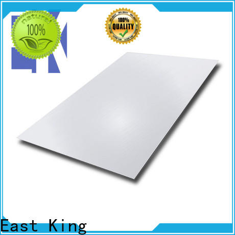 East King new stainless steel plate manufacturer for tableware