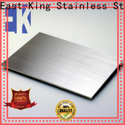 East King high-quality stainless steel plate with good price for tableware