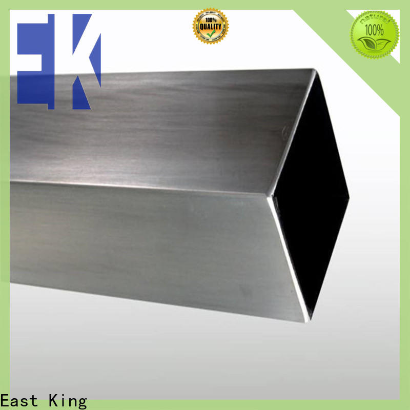 East King wholesale stainless steel pipe factory price for bridge