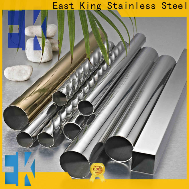 East King top stainless steel pipe with good price for mechanical hardware