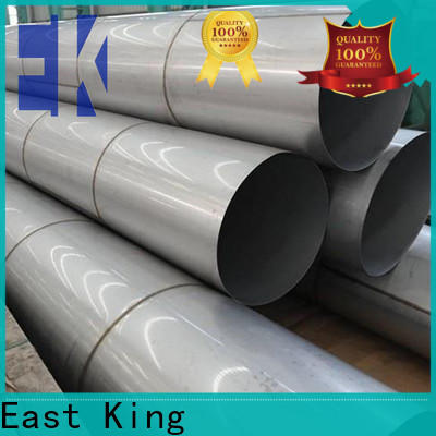 East King stainless steel pipe directly sale for bridge