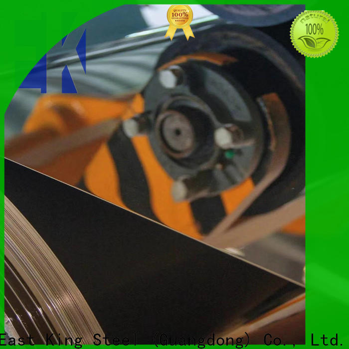 East King top stainless steel plate manufacturer for tableware