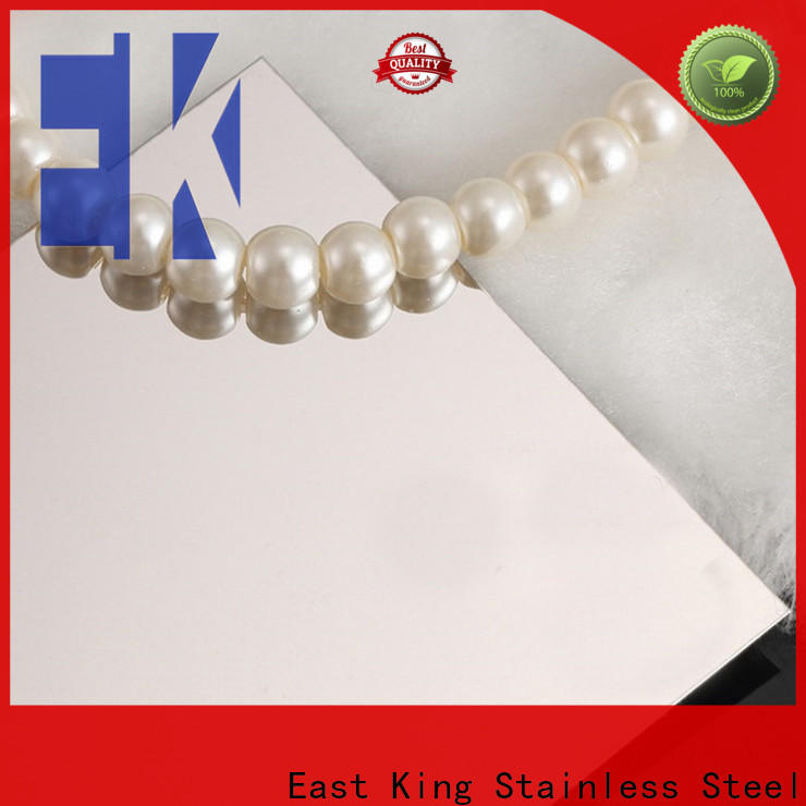 East King custom stainless steel plate factory for aerospace