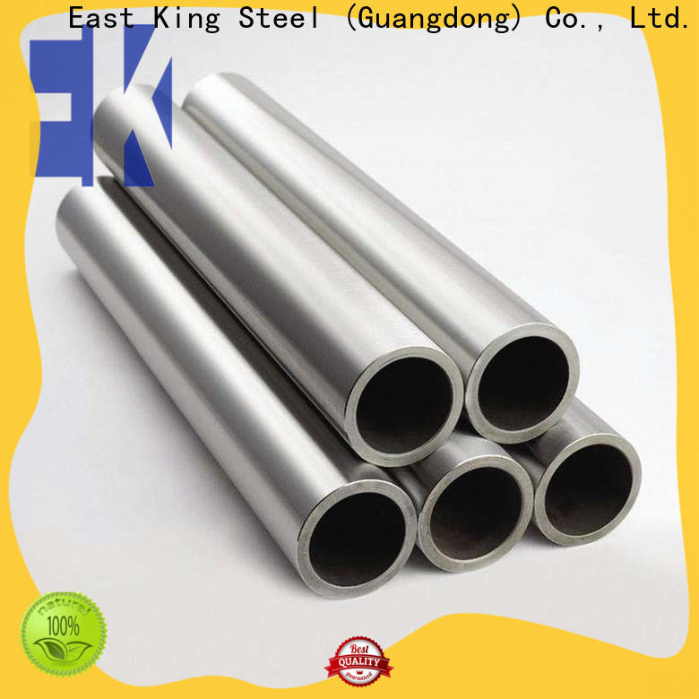 East King custom stainless steel tube factory for tableware