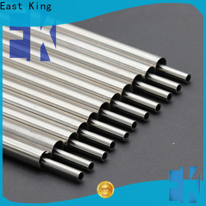 East King custom stainless steel tube series for construction