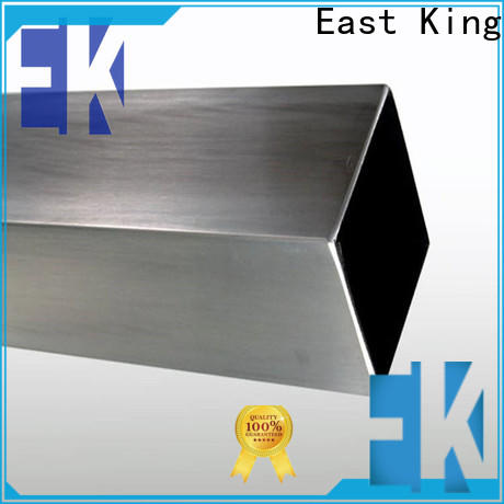 East King latest stainless steel tubing directly sale for bridge